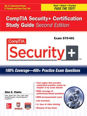 comptia security certification study guide exam sy0 401 by glen e rh overdrive com comptia security+ study guide sy0-401 pdf comptia security study guide