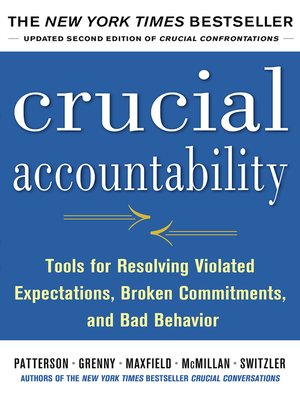 cover image of Crucial Accountability
