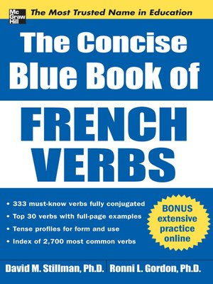cover image of The Concise Blue Book of French Verbs
