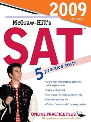 cover image of McGraw-Hill's SAT, 2009 Edition