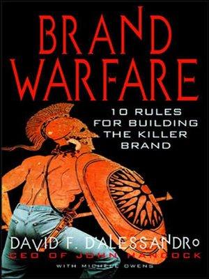 cover image of Brand Warfare