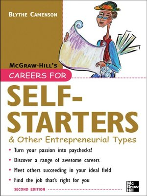 cover image of Careers for Self-Starters & Other Entrepreneurial Types