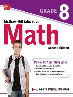 cover image of McGraw-Hill Education Math Grade 8