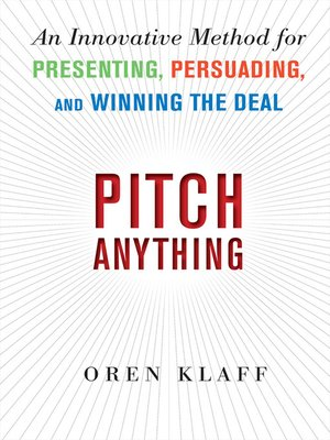 cover image of Pitch Anything