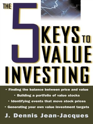 cover image of The 5 Keys to Value Investing