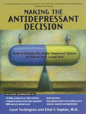cover image of Making the Antidepressant Decision