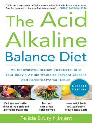 cover image of The Acid Alkaline Balance Diet
