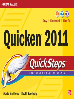 cover image of Quicken® 2011 QuickSteps