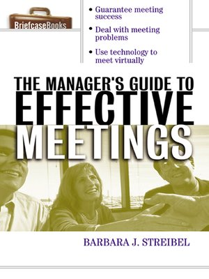 cover image of Manager's Guide to Effective Meetings