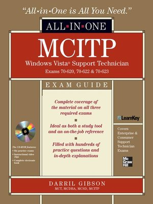 cover image of MCITP Windows Vista® Support Technician All-in-One Exam Guide (Exam 70-620, 70-622, & 70-623)