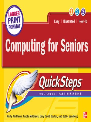 cover image of Computing for Seniors