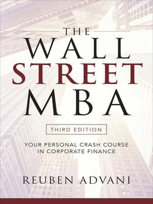cover image of The Wall Street MBA