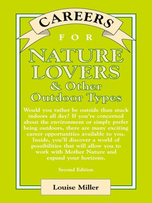 cover image of Careers for Nature Lovers & Other Outdoor Types