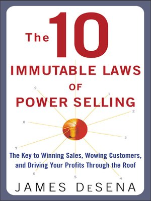 cover image of 10 Immutable Laws of Power Selling