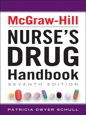 cover image of McGraw-Hill Nurses Drug Handbook