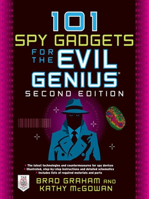 cover image of 101 Spy Gadgets for the Evil Genius
