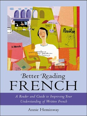 cover image of Better Reading French