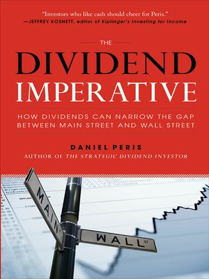 cover image of The Dividend Imperative