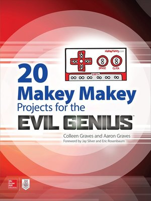 cover image of 20 Makey Makey Projects for the Evil Genius