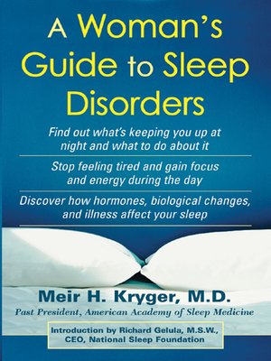 cover image of A Woman's Guide to Sleep Disorders
