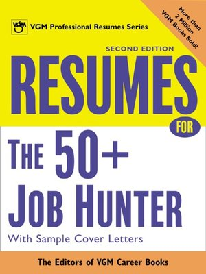 cover image of Resumes for the 50+ Job Hunter