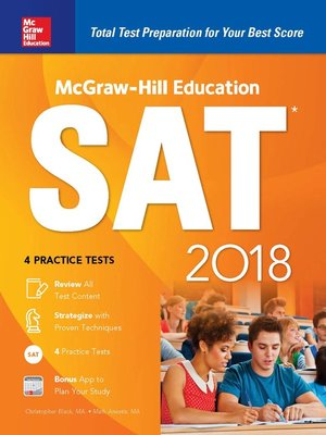 cover image of McGraw-Hill Education SAT 2018