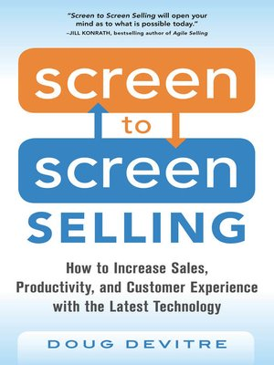 cover image of Screen to Screen Selling