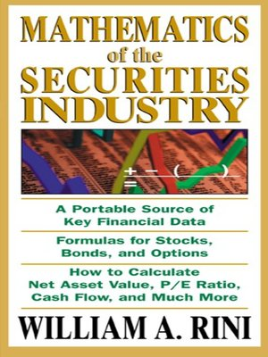 Mathematics of the Securities Industry by William Rini