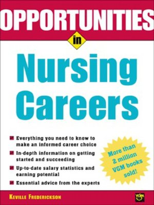 cover image of Opportunities in Nursing Careers