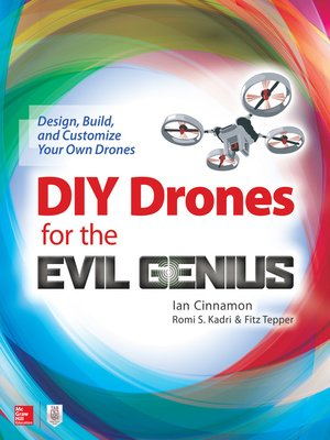 cover image of DIY Drones for the Evil Genius