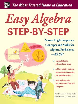 cover image of Easy Algebra Step-by-Step