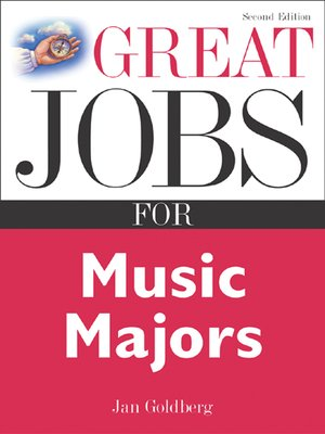 cover image of Great Jobs for Music Majors