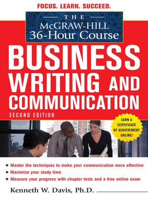 cover image of Business Writing and Communication