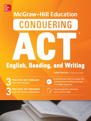 cover image of McGraw-Hill Education Conquering ACT English Reading and Writing
