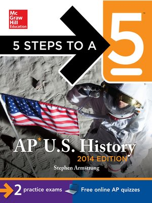 cover image of 5 Steps to a 5 AP U.S. History, 2014 Edition