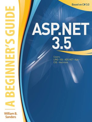 cover image of ASP.NET 3.5