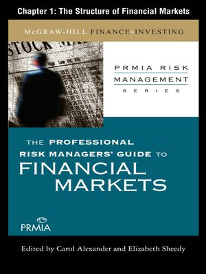cover image of The Structure of Financial Markets