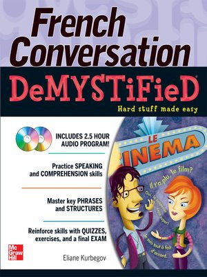 cover image of French Conversation Demystified with Two Audio CDs