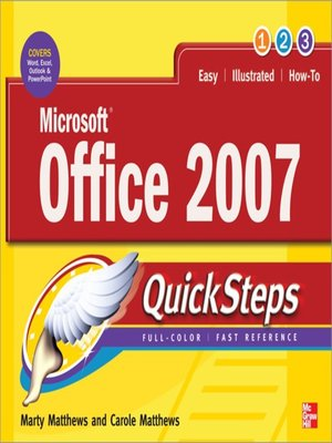 cover image of Microsoft® Office 2007