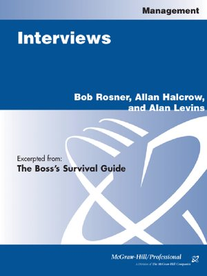 cover image of Interviews