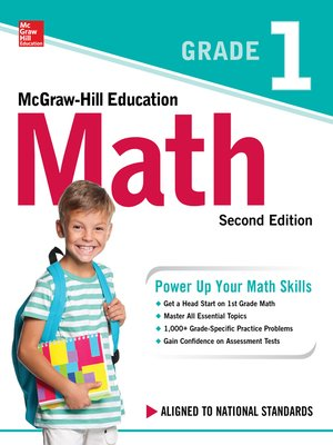 cover image of McGraw-Hill Education Math Grade 1