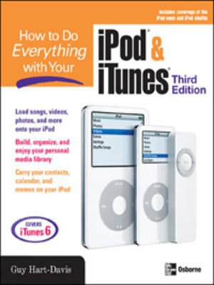 cover image of How to Do Everything with Your iPod® & iTunes®