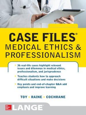 cover image of Case Files Medical Ethics and Professionalism