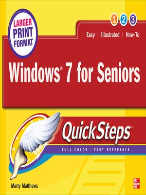 cover image of Windows® 7 for Seniors