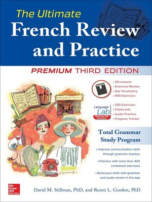 cover image of The Ultimate French Review and Practice, 3E