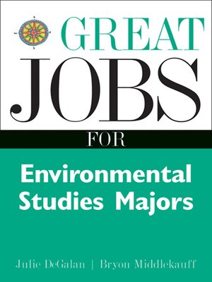 cover image of Great Jobs for Environmental Studies Majors