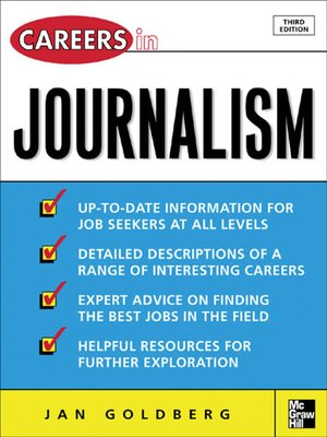 cover image of Careers in Journalism