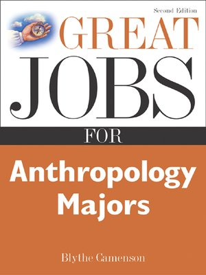 cover image of Great Jobs for Anthropology Majors