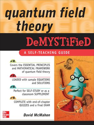 cover image of Quantum Field Theory Demystified