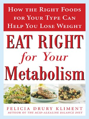 cover image of Eat Right for Your Metabolism